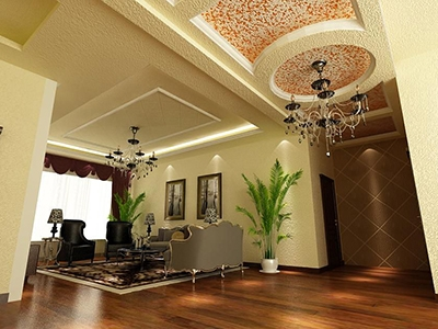 温馨客厅装饰效果